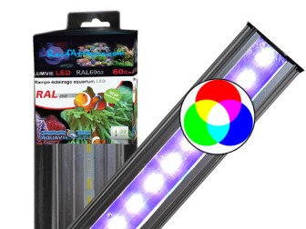 Rampe à LED RGB 21W/80cm LUMIVIE