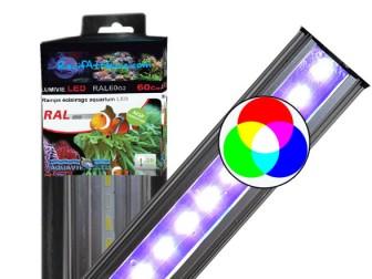 Rampe à LED RGB 21W/80cm LUMIVIE