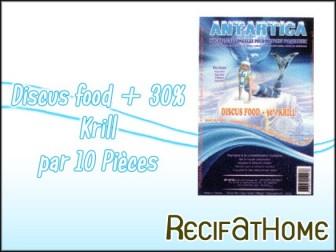 Discus Food+30% krill Antartica 100g