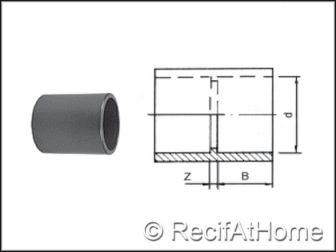 Douille Manchon PVC HP F/F