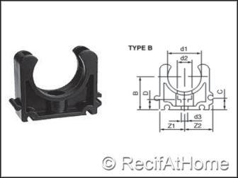 Colliers pour tuyau PVC HP
