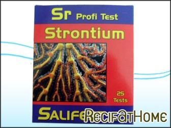 Test strontium salifert profi test