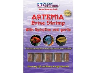 OC - ARTEMIA AVEC SPIRULINE ET AIL 100GR Ocean nutrition