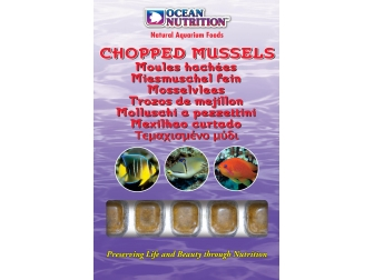 OC - MOULES HACHEES 100GRS Ocean nutrition