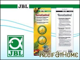(2)JBL TerraControl (1Hygrometer,1Thermometer)