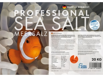 Professional Sea Salt 20 kg 20 kg Fauna Marin
