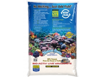 NATURAL WHITE REEF SAND 0,1-0,5mm en 9,07 KG