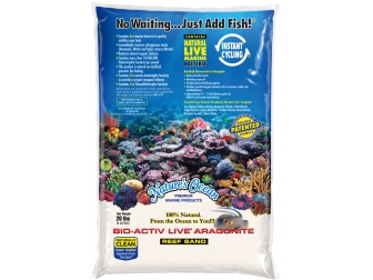 NATURAL WHITE REEF SAND 0,5-1,7mm en 9,07 KG