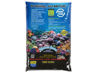 BLACK BEACH REEF SAND 0,5-1,5mm en 9,07 KG