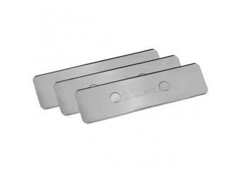Lames acier inoxydable, 3 pièces Tunze 0220.155