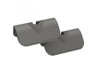 Lames plastiques 45 mm, 2 pièces Tunze 0220.156