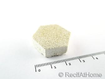 Aragonite HexaDisques 1 pièce