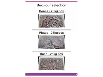 Dutch Reef Rock Bones   Mix Box 20 Kg