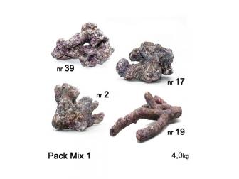 Dutch Reef Rock Pack Mix 1 Base  4 Kg