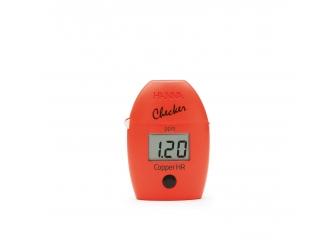 Checker Cuivre, gamme large (jusqu'à 5,00 mg/L) HI702 Mini-photomètre HC HANNA