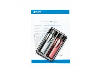 Solutions étalons dureté magnésique à 0,00 et 1,00 mg/L HI719-11 HANNA