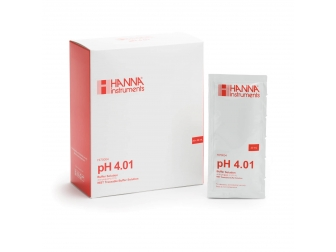 Solution tampon pH 4,01, 25 sachets de 20 mL HI70004P HANNA