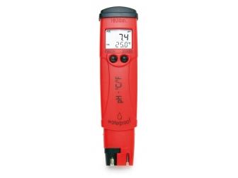 Testeur de pH/°C étanche pHep 4, résolution 0,1 pH HI98127 HANNA