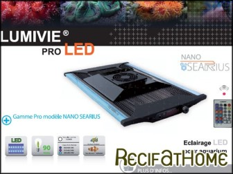 NANO-SEARIUS 90w LUMIVIE Rampe PRO LED