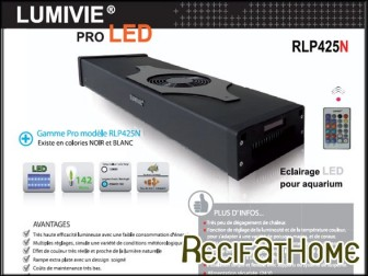 Evolution lumivie PRO LED RLP425N Noir