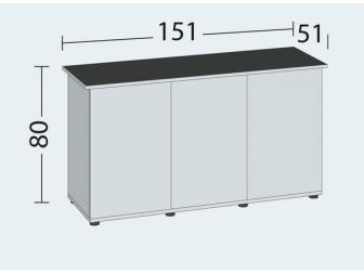 Meuble SBX RIO 450 light wood  JUWEL