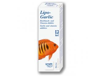 LIPO-GARLIC 50 ml  bouteille TROPIC MARIN Nutrition pour poissons marin