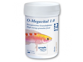 O-Megavital 1.0 mm 75 g TROPIC MARIN Nutrition pour poissons marin