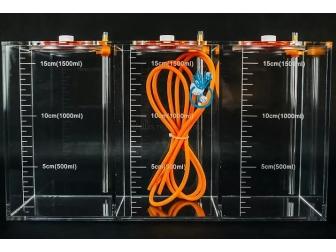 Coral Box LiquidBox 3 x 1.5Litres Orange