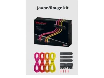 Kit d'accessoires jaune/rouge Pompe doseuse Redsea