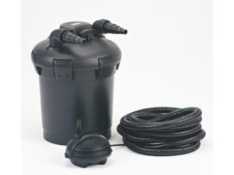 Pondopress 10000 filtre sous pression,UV 7watts PONTEC