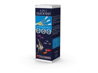 COLOMBO AQUA QUICKTEST 6 - 50STRIPS