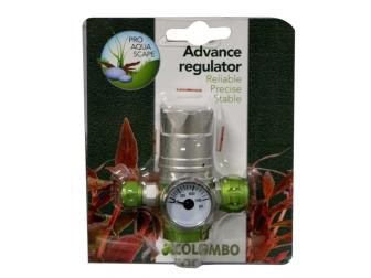 COL. ADVANCE CO2 PRESSURE REGULATOR