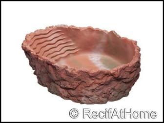 Baignoire, rouge, 2.000 ml - 29x9x22 cm