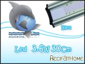 Bleu LED 3,6W/30cm LUMIVIE